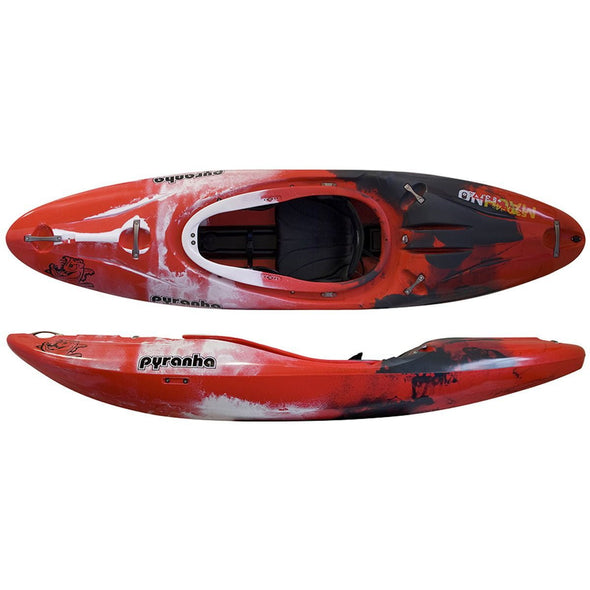 PYRANHA MACHNO SMALL STOUT 2 OUTFITTING WHITEWATER KAYAK