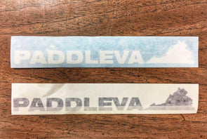 "PaddleVA 8"" Decal"