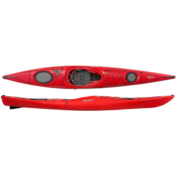 Dagger Stratos 14.5 S Touring Kayak - 2018 Outfitting