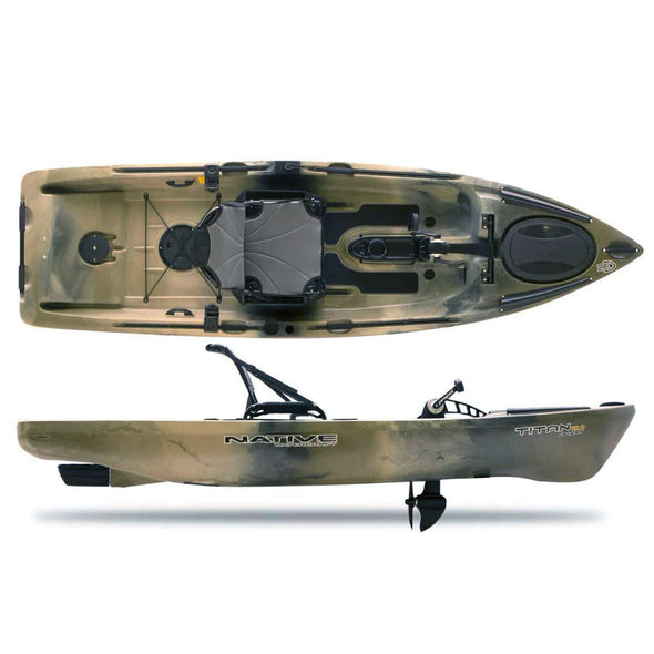 Native Watercraft Titan 12 Propel Fishing Kayak