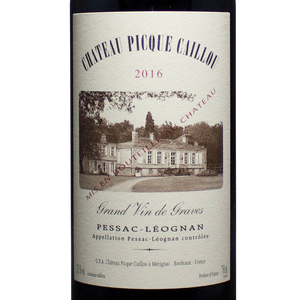 2015 chateau picque caillou, crand cru classe de graves, pessac-leognan, bordeaux france, the lady pearly, district of columbia, virginia, nevada