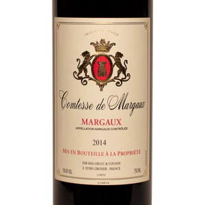 Comtesse de Margaux, Margaux, Bordeaux, Fine Wine, Rare Wine, The Lady Pearly, Washington DC, District of Columbia, Kevin A. Brown