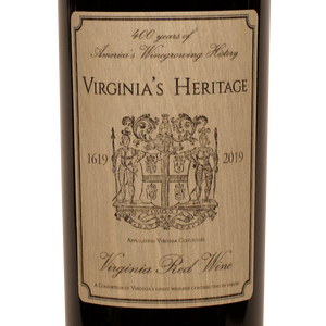 Virginia Heritage Red Blend, Virginia, Fine Wine, Rare Wine, The Lady Pearly, Washington DC, District of Columbia, Kevin A. Brown