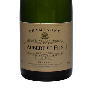 aubert et fils, champagne france, pinot meunier, epernay, the lady pearly