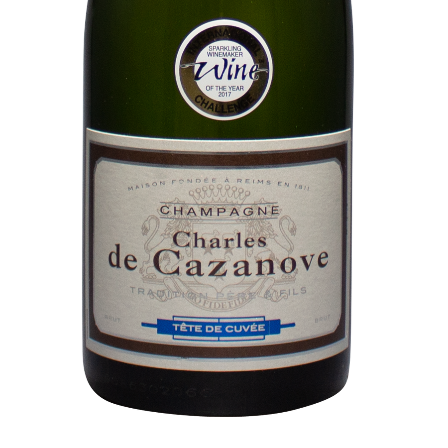 charles de cazanove, tete de cuvee, champagne france, reims, pinot, chardonnay, the lady pearly