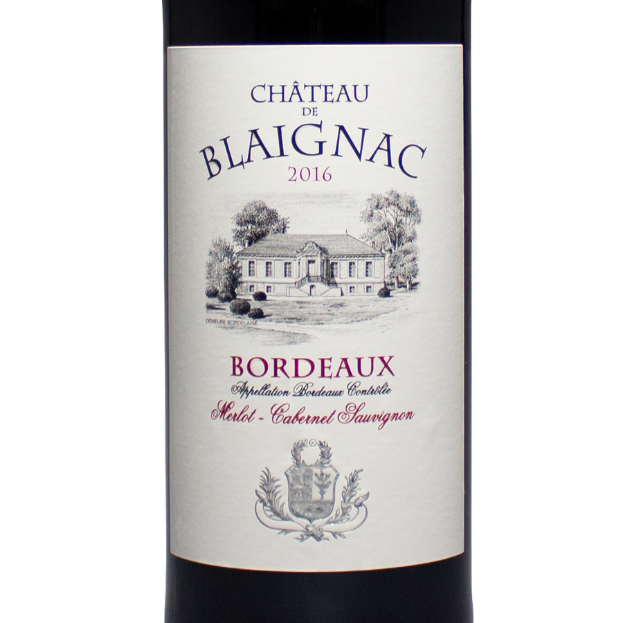 chateau blaignac, bordeaux france, cabernet sauvignon, merlot, bon vivant, virginia, california, nevada