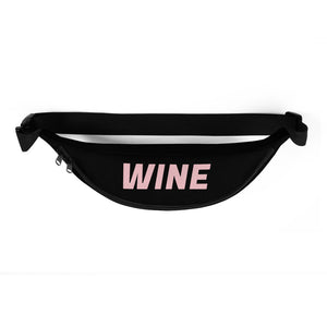 WINE Fanny Pack - Black