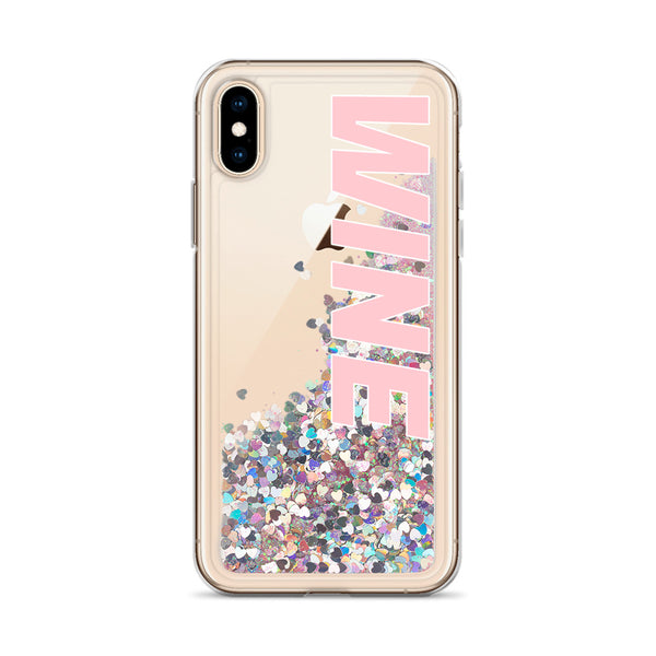 WINE iphone case, glitter, school, beach, vineyard, pool, winery, work, pink, rose, red, champagne, sparkling