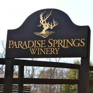 Paradise Springs Winery, Chardonnay Virginia 2016