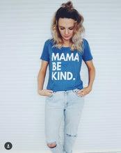 MAMA BE KIND DENIM & WHITE