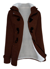 Load image into Gallery viewer, Casual Long Sleeve Solid Buttoned Zipper Pockets Coat