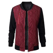 Load image into Gallery viewer, Women's Long Sleeve Color Block Cotton-padded Jacket
