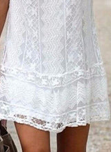 Load image into Gallery viewer, Women's Sleeveless Lace Mini Dress