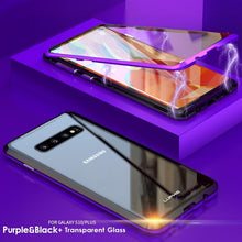 Load image into Gallery viewer, Upgraded Two Side Tempered Glass Magnetic Adsorption Phone Case for Samsung