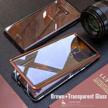 Load image into Gallery viewer, Upgraded Two Side Tempered Glass Magnetic Adsorption Phone Case for Samsung S8 S8 Plus Note 8