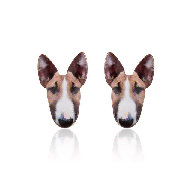 Earrings for Women Puppy Dog