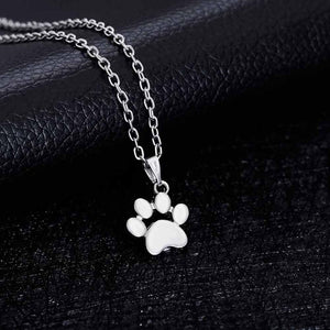 Dogs Footprints Necklace