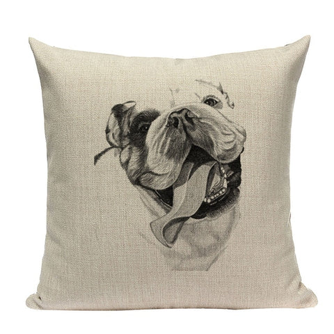 Image of Dog Pillow Sofa Case