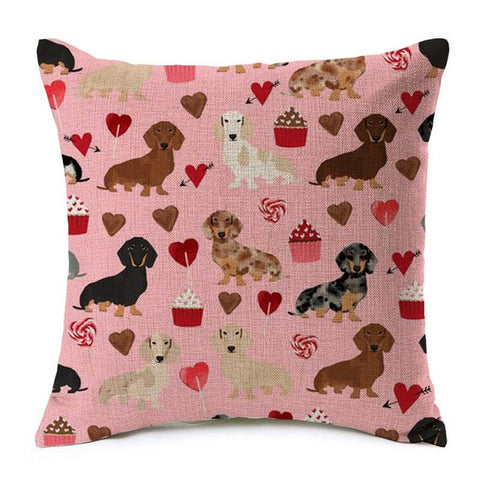 Image of Cushion Covers Sausage Dog