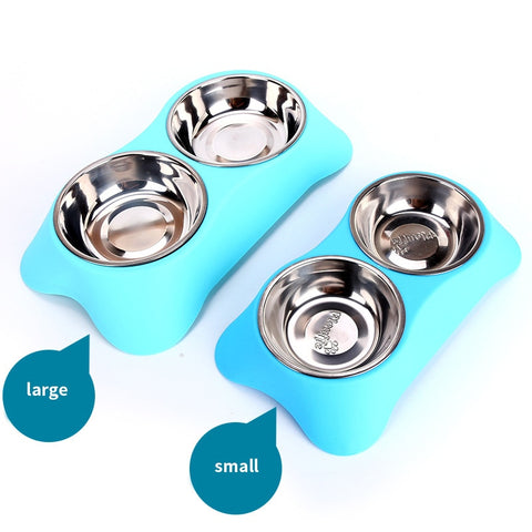 Image of Stainless Steel Double Bowls