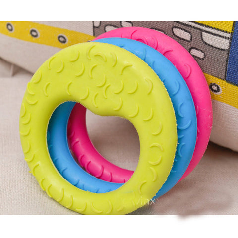 Dog Toys Cute TPR Moon