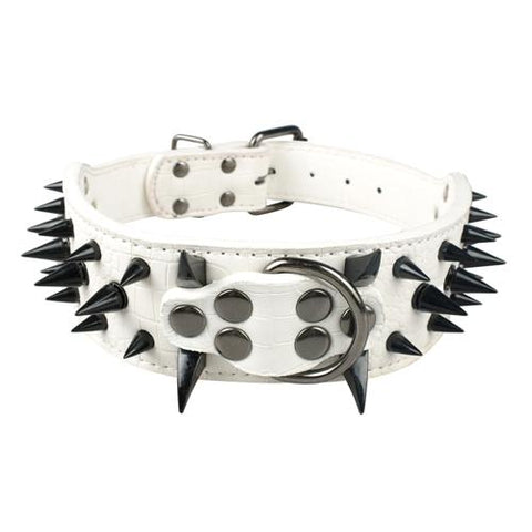 Image of Wide Sharp Spiked Collars