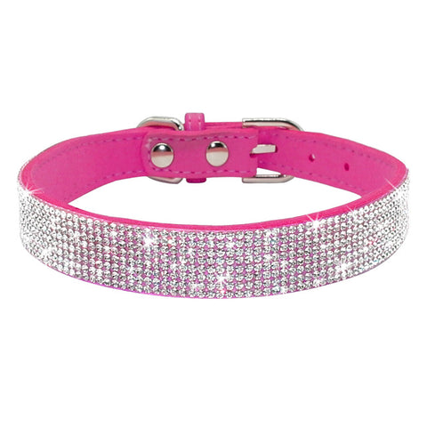 Image of Diamant Leather Puppy Collar