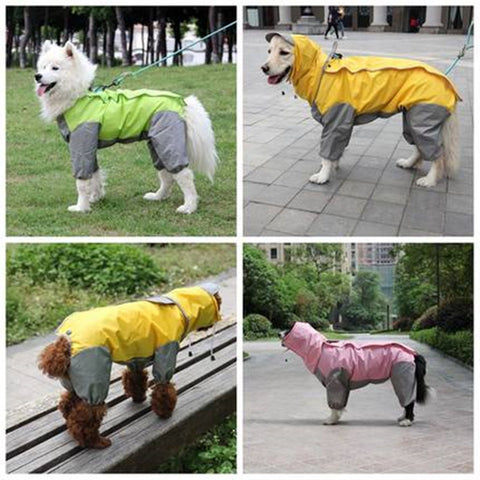 Image of Waterproof Dog Raincoat