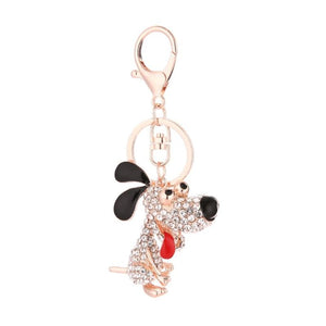 Cute Cartoon Animal Keychains