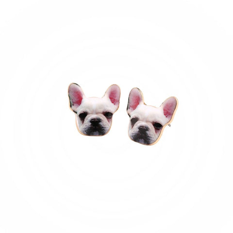 Image of Dog Head Earring