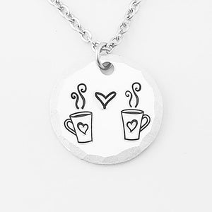Coffee with Friends Necklace