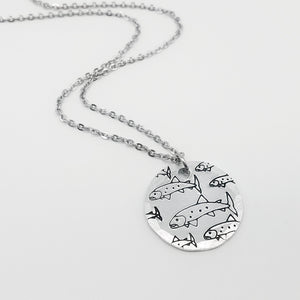 Gone Fishing Necklace