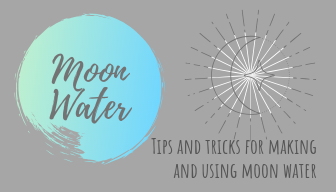 Making Moon Water