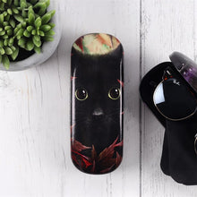 Load image into Gallery viewer, Autumn Cat Glasses Case by Linda Jones