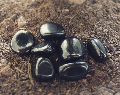 Natural Gems - Black Obsidian