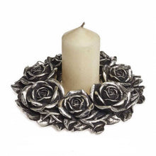 Load image into Gallery viewer, Black Rose Wreath
