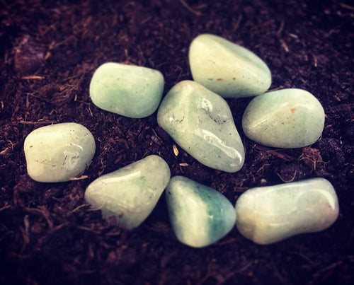 Natural Gems - Green Adventurine