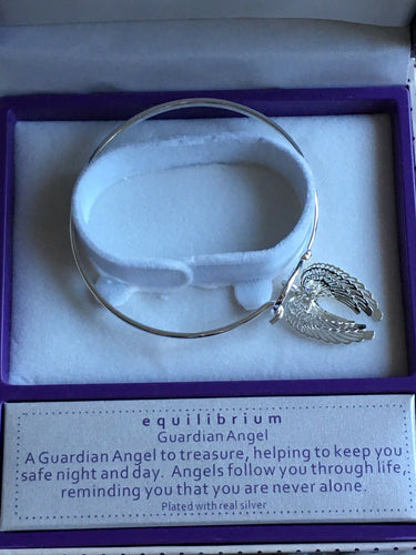 Equilibrium Guardian Angel Wings Bracelet