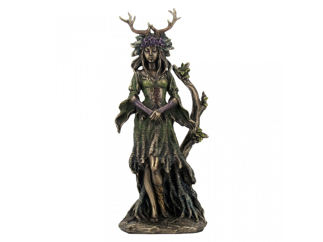 Lady of The Forest - Bronzed Ornament