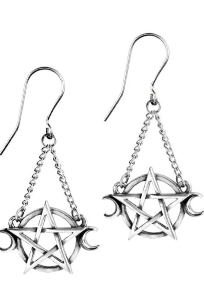 Alchemy Gothic Goddess Earrings