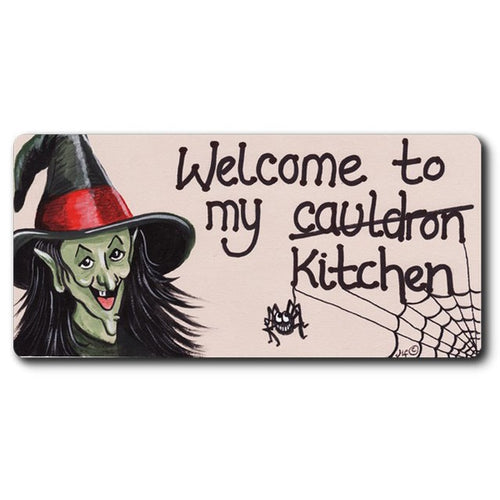 Welcome To My Cauldron Magnet