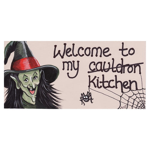 Welcome To My Cauldron Sign
