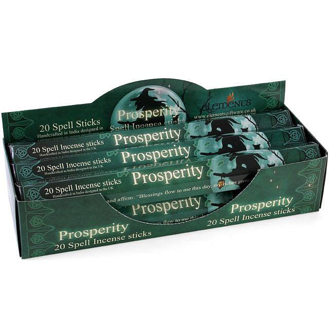 Prosperity Spell Incense Sticks by Lisa Parker - Pack of 20