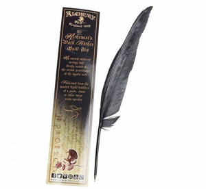 Alchemy Gothic The Alchemist`s Black Feather Quill
