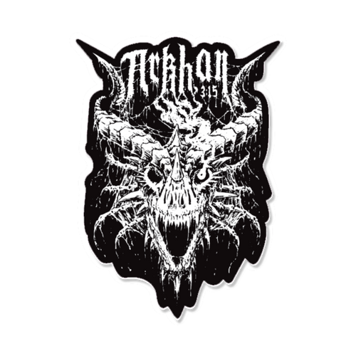 ARKHAN THE CRUEL™ 3:15 Sticker