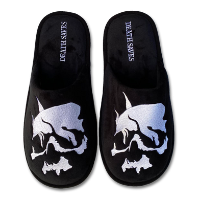 Death Saves Slipper (Black)