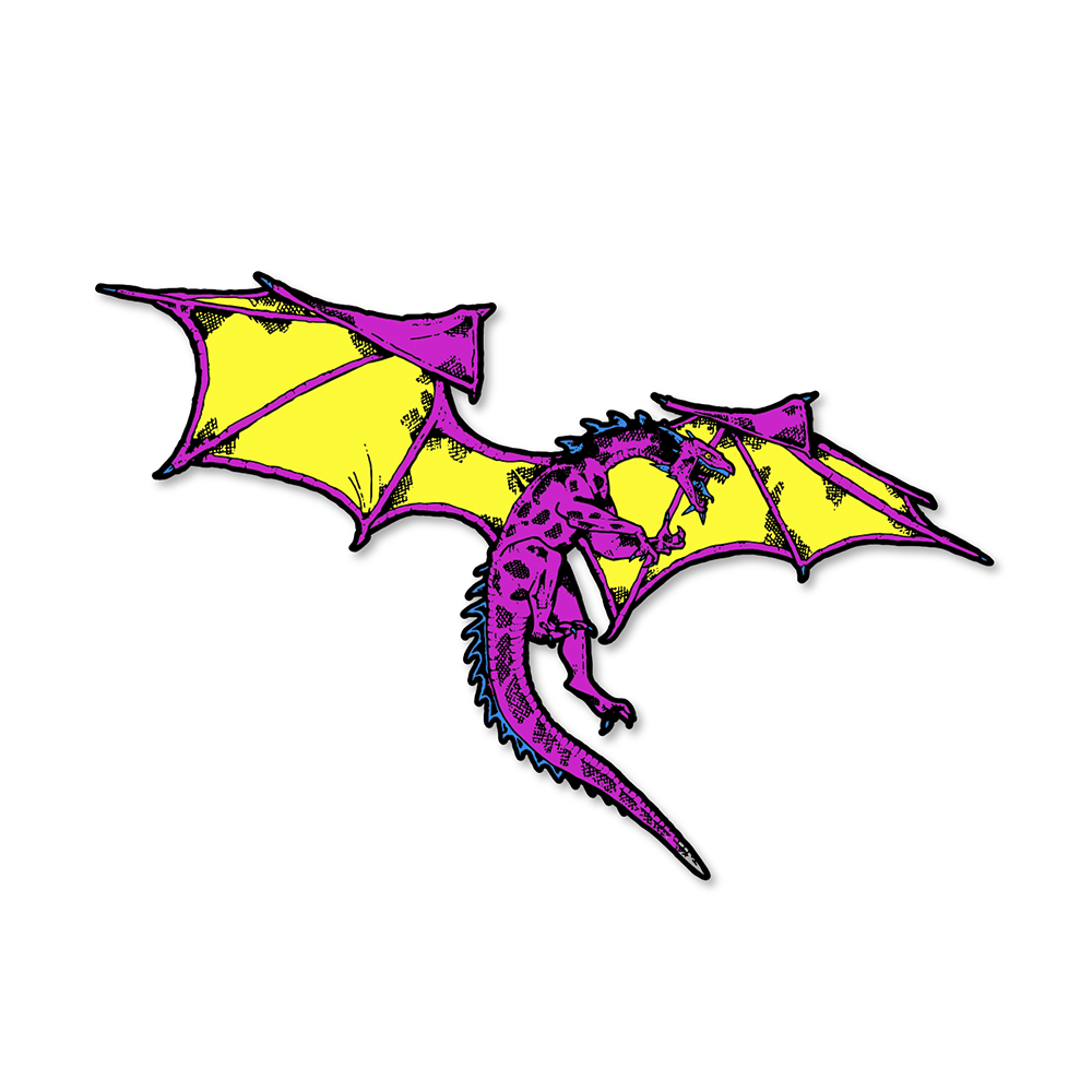 Dragon Pin (Color)