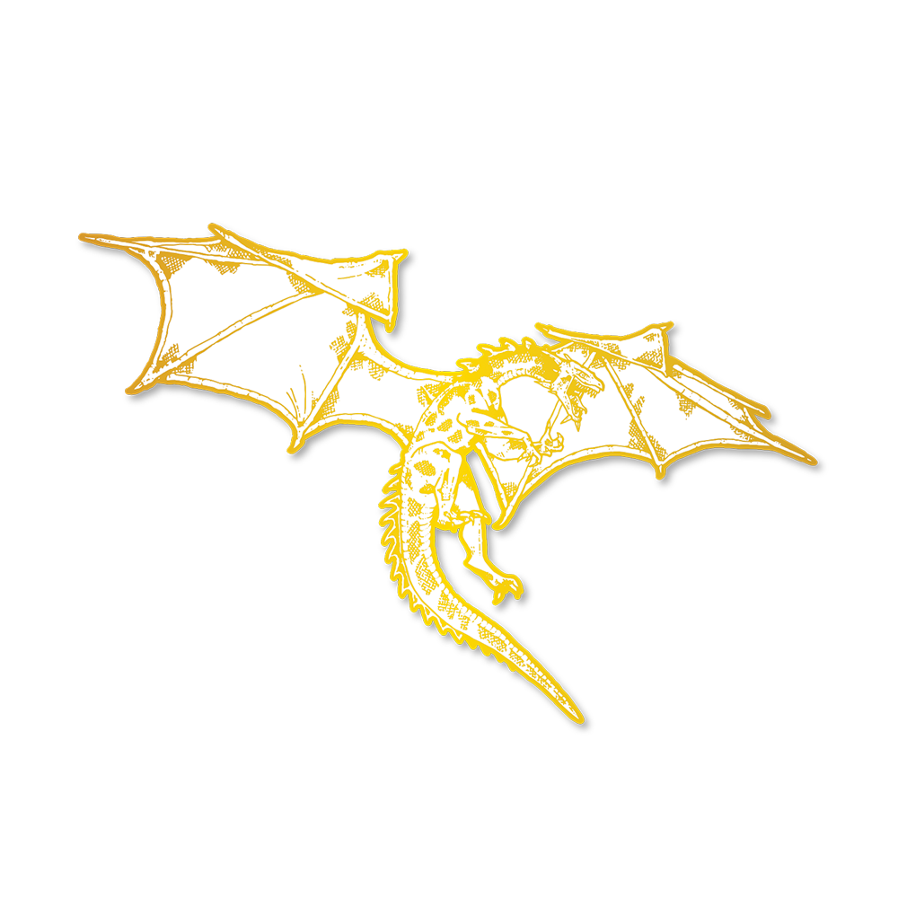 Dragon Pin (Gold)