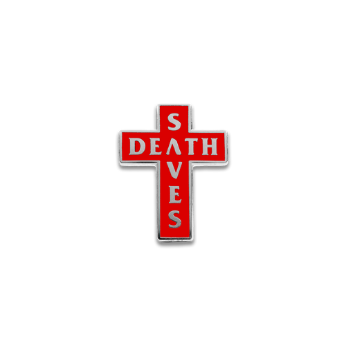 DS Cross Pin (Red)