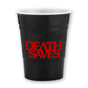 Death Saves Reusable Party Cup (Black)